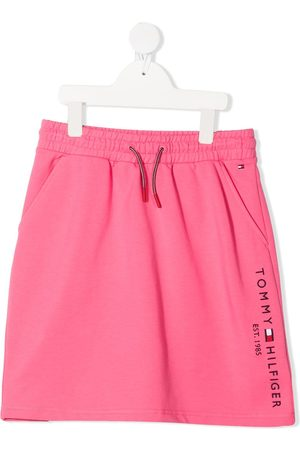 Tommy Hilfiger Essential embroidered logo mini skirt