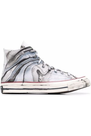 Converse Chuck 70 marble-print sneakers