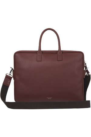 Meli Melo Men Laptop Bags - Briefcase in Brown Leather for Men