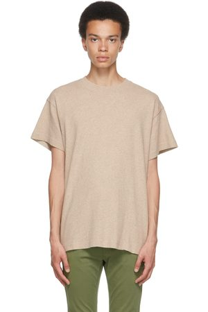 Nudie Jeans Beige Milton Recycled T-Shirt