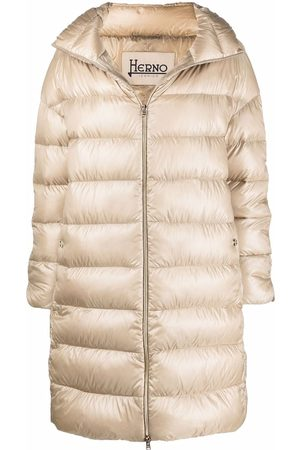 HERNO Down-feather mid-length coat