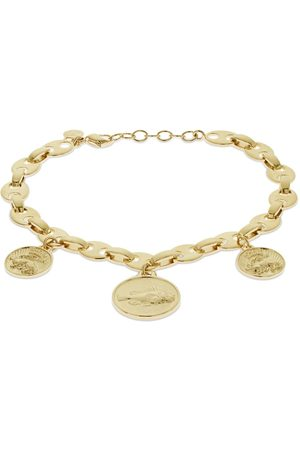 Paco rabanne Eight Chain Anklet W/ Medals