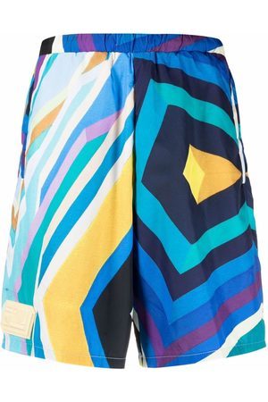 Formy Studio Abstract-pattern print shorts