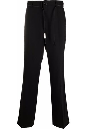 Marni Belted straight-leg trousers