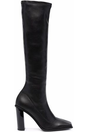 Just Cavalli Square-toe knee length boots