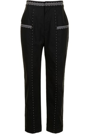 TWINSET Studded tapered trousers