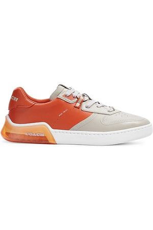 Coach CitySole Leather Colorblock Court Low Top Sneakers