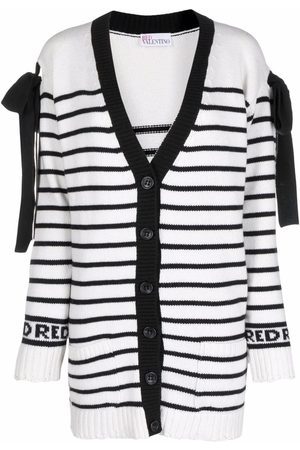 RED Valentino Women Cardigans - Bow-detail cardigan