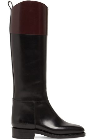 Dsquared2 20mm Leather Tall Boots