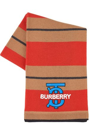 Burberry Kids - Logo Scarf - Unisex - One Size - - Knitted scarves