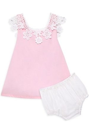 Isabel Garreton Baby Printed Dresses - Baby Girl's 2-Piece Floral Lace Sundress & Bloomers Set