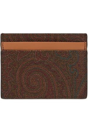 ETRO Men Wallets - Classic Book Paisley Card Holder