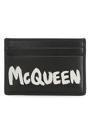 McQ Two-Tone Leather Card Case