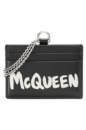 McQ Chain Leather Card Holder
