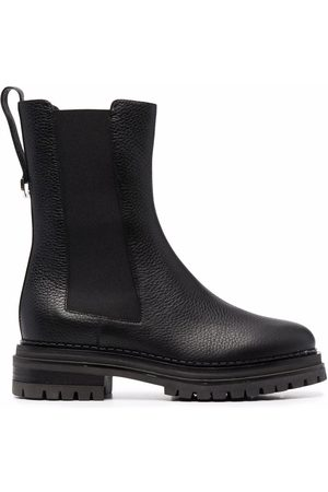 Sergio Rossi Women Boots - Chunky-sole leather boots