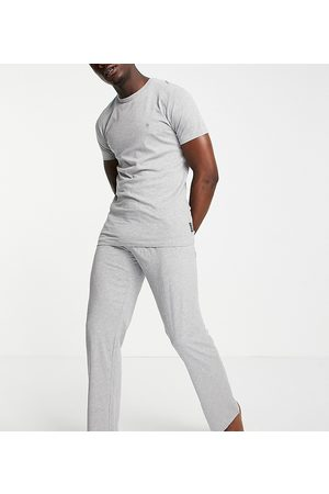 French Connection Men Loungewear - Tall jogger set in light melange