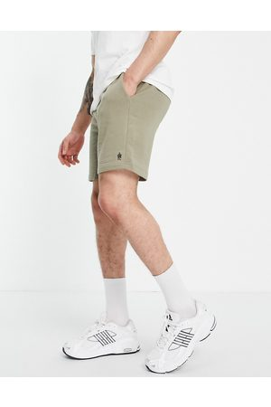 French Connection Jersey shorts in light khaki