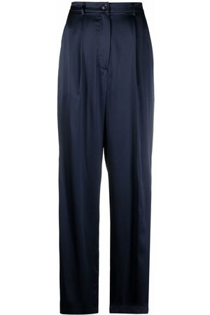 12 STOREEZ Relaxed-fit silk trousers