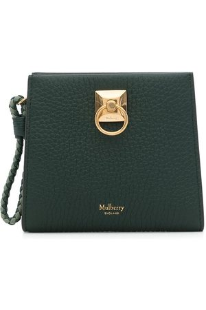 MULBERRY Iris Zip-Around grained leather clutch bag