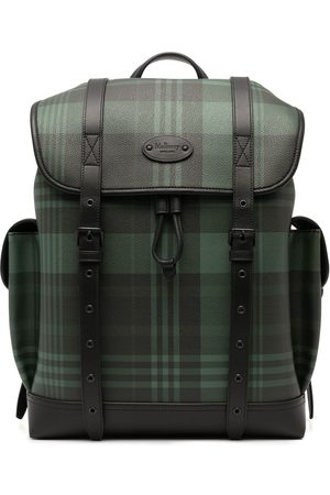 Mulberry Heritage Oversized tratan-check backpack