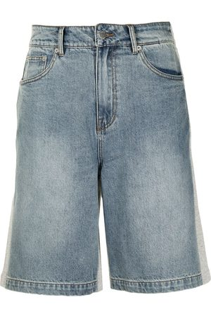 FIVE CM Knee-length two-tone shorts