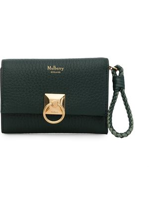 MULBERRY Iris tri-fold grained leather wallet