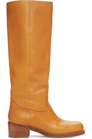 GABRIELA HEARST 50mm Marion Leather Tall Boots