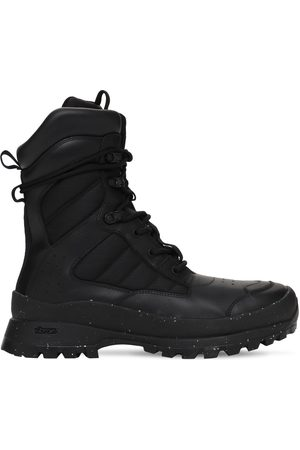 MCQ In Dust Tactical Leather Boots