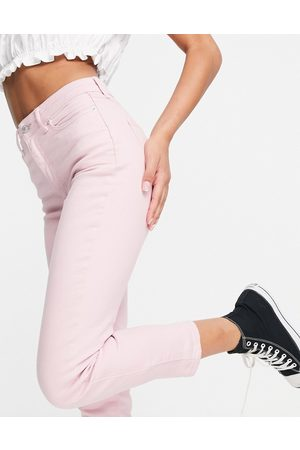 New Look Mom jeans in pastel