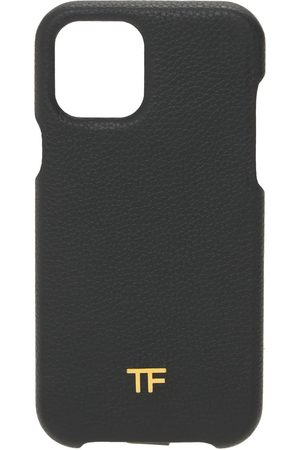 TOM FORD Leather Iphone 12 Pro Cover W/ Chain