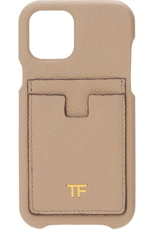 TOM FORD Leather Iphone 12 Pro Cover W/card Slots