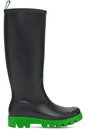 GIA COUTURE Women Knee High Boots - 30mm Giove Bis Tall Rubber Rain Boots