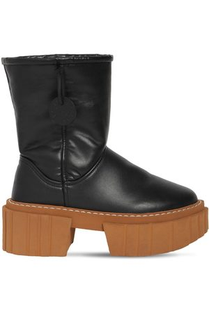 Stella McCartney 60mm Emilie Faux Leather Ankle Boots