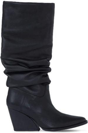 Kenzo 80mm Billow Tall Leather Boots