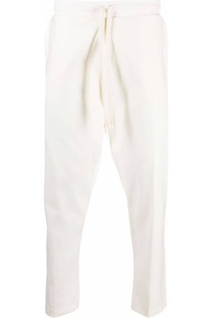 Alchemy Men Pants - Exposed seam tapered trousers