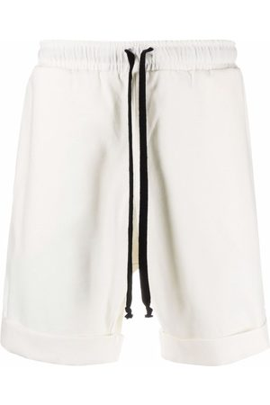 Alchemy Men Shorts - Piped-trim detail track shorts