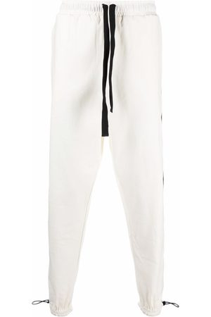 Alchemy Men Pants - Toggle fastened cuff trousers
