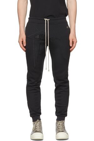 Rick Owens Champion Edition Heavy Jersey Perforated Lounge Pants