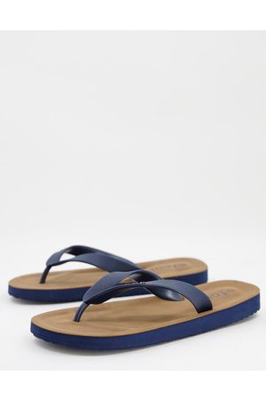 French Connection FCUK 2 flip flops in marine