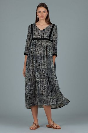Dream Women Tunic Dresses - Melody Tunic in Spin Blue