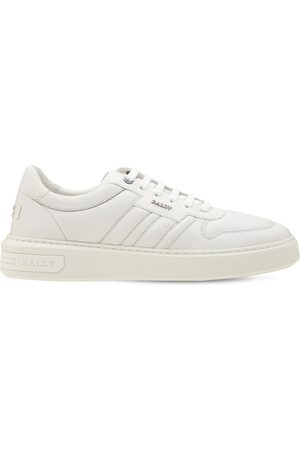 BALLY Logo Leather Sneakers