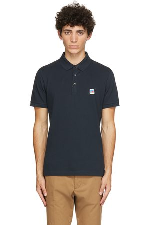 Boss Navy Russell Athletic Edition Petroc Polo