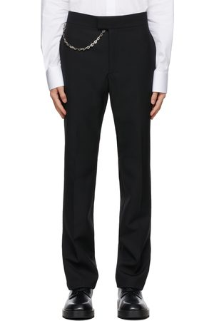 Men Formal Pants - Givenchy Wool Chain Trousers