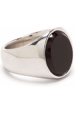 Tom Wood Men Rings - The Lizzie polished onyx ring