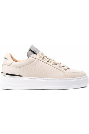 Philipp Plein Networth low-top leather sneakers