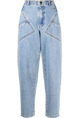 Serafini Women Tapered - High-rise tapered jeans