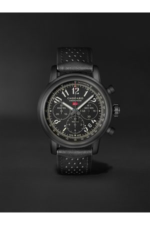 Chopard Men Watches - Mille Miglia 2020 Race Edition Limited Edition Automatic Chronograph 42mm Stainless Steel and Leather Watch, Ref. No. 168589-3028