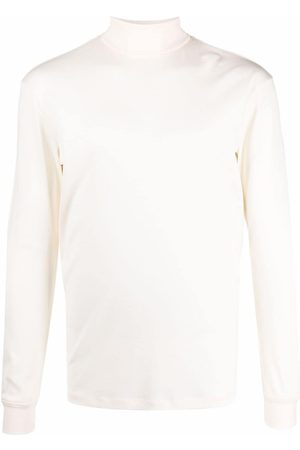 Lemaire Roll-neck cotton top
