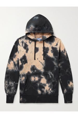 The Real McCoys Tie-Dyed Cotton-Jersey Hoodie