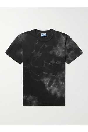 The Real McCoys Tie-Dyed Cotton-Jersey T-Shirt